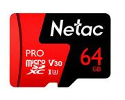 P500 Extreme Pro 64GB microSDXC UHS-I Class 10 Memory Card with SD Adapter