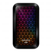 SE770G 512GB Portable RGB External Solid State Drive - Black